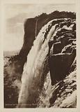 Victoria Falls shewing Rock Formation