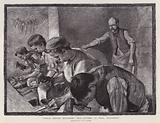 File cutters at work, Wickersley, South Yorkshire