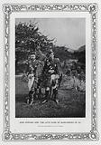 King Edward VII and the his brother Alfred, Duke of Saxe-Coburg and Gotha, 1870