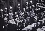 Nazi leaders on trial for war crimes at the Nuremberg Trials, Germany, 1945–1946
