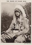 Prince of Wales dressed as an American Indian chief