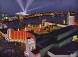 Chicago's 1934 World's Fair: Night Panorama of the Fair