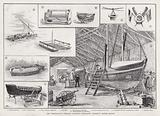 The International Fisheries Exhibition, Life-Saving Apparatus, British Section
