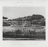 Fountain in the Garden of the Villa Albani, Rome, Italy