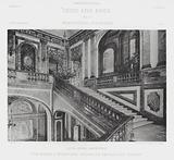 The Marble Staircase, Palais De Versailles, France