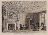 The great chamber, Stockton House, Wiltshire, seat of Henry Biggs