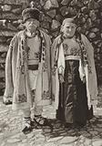 Romania: Rasinari, Old peasants