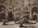 Roma: Cortile del Belvedere nel Vaticano