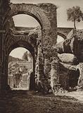 Roma: Palatino, Presso il Palazzo di Settimio Severo