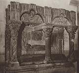 Spain: Zamora, Sepulchre of Prince D Juan Vazquez de Acuna in the church of Santa Magdalena