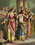 The Story of Queen Esther: The disgrace of Vashti