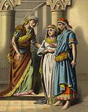 The Story of Queen Esther: Esther brought into the King's house