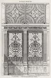 Design for Decoration of Billiard Room, C Allhusen, Esquire, Stoke Court, Buckinghamshire