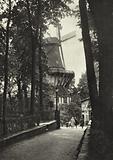 Potsdam, Historische Windmuhle in Sanssouci; Historical Windmill in Sanssouci