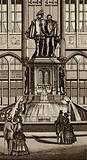 Bruxelles/Brussels: Monuments d'Egmont et de Hornes