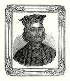 John was born in 1167, crowned in 1199, and died in 1216