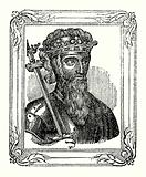 Edward III was born in 1312, crowned in 1327, and died in 1377
