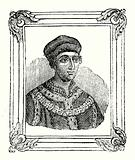 Henry VI was born in 1421, crowned in 1429, and murdered in 1471