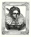 Elizabeth was born in 1533, crowned in 1558, and died in 1603