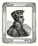 Henry V was born in 1388, crowned in 1413, and died in 1422