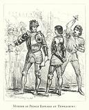 Murder of Prince Edward at Tewkesbury
