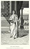 Les Gallo-Romains, Poete gallo-romain, Ausone dans l'interieur de sa maison