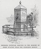 Drinking Fountain erected to the Memory of Jerry McAuley near the Cremorne Mission
