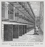 Prisoners' Cells in the Penitentiary, Blackwell's Island, The Dark Cells are on the Lower Floor