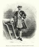 Le marquis de Montcalm; d'apres un portrait du temps