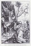 Apparition de l'ange a Joachim; d'apres Albert Durer
