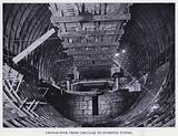 Mersey Tunnel: Change-Over from Circular to Inverted Tunnel