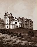 Belfast Castle, seat of the Marquis of Donegal