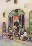 An Arab Cafe, Cairo