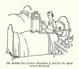 The Bedside Gas Cooker, Breakfast in Bed for the Hard-worked Housewife