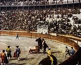 A Spanish bull-fight