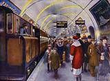 The first electric railway in Britain