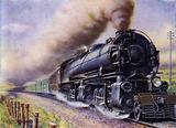 A monster American goods train