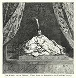 The Mikado on his Throne, Time, from the Seventh to the Twelfth Century