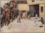 Illustration for The Pickwick Papers by Cecil Aldin