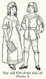 Boy and Girl of the time of Charles I
