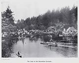 New Plymouth, New Zealand: The Lake in the Recreation Grounds