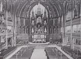 Interior Notre Dame Cathedral, Montreal