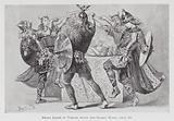 Dancing: Sword Dance of Vikings round the Sacred Horns, circa 900