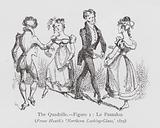 Dancing: The Quadrille, Figure 1, Le Pantalon