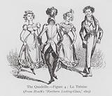 Dancing: The Quadrille, Figure 4, La Trenise
