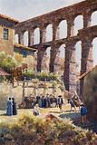 Northern Spain: Segovia, The Aqueduct