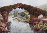 Northern Spain: Cangas de Onis, The Bridge over the Sella