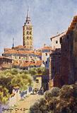 Northern Spain: Segovia, Church of San Esteban