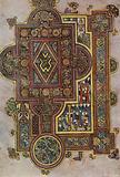 The Book of Kells: The opening word of St Luke's Gospel