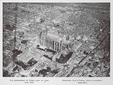 Panoramic view of Reims, taken in aeroplane, June 1913